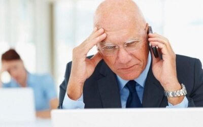 Over 55's worried about running out of retirement income