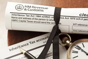 Hm Revenue & Customs document for Inheritance Tax